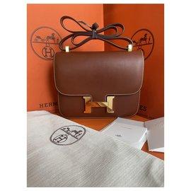 Hermès-Constance 24 Barenia-Brown