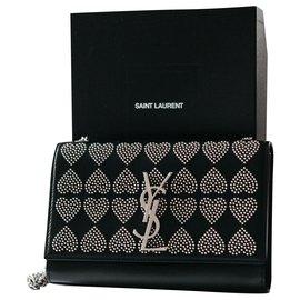 Saint Laurent-Saint Laurent Kate Monogram bag (Limited edition)-Black