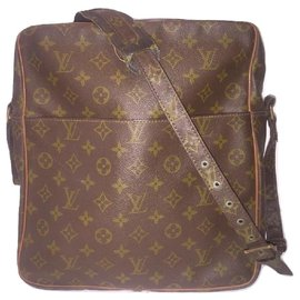 Louis Vuitton-LOUIS VUITTON vintage Marceau GM bag-Brown
