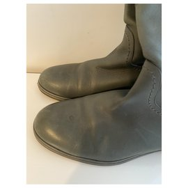 Chanel-Boots-Grey