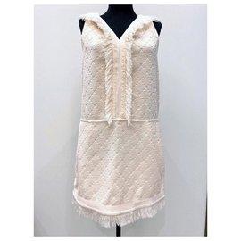 Chanel-robe en tissu éponge à capuche-Autre