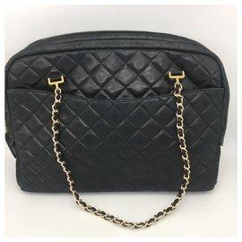 Chanel-Sac de courses-Noir
