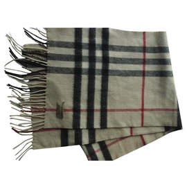 Burberry-Men Scarves-Cream