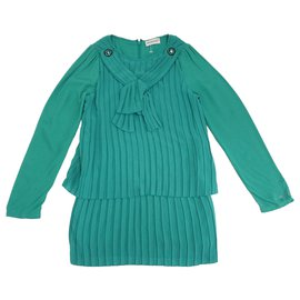 Pinko-Dresses-Green