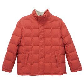 Loro Piana-Boy Coats Outerwear-Orange