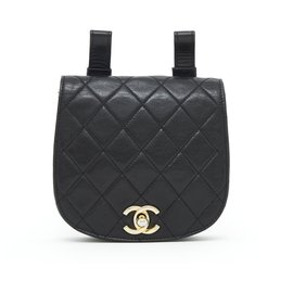 Chanel-CLASSIC TIMELESS CLUTCH FOR BELT-Black