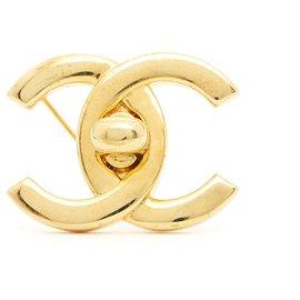 Chanel-GOLDEN CC LOCKER M-Golden