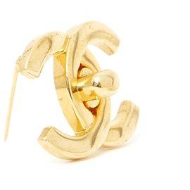 Chanel-GOLDEN CC LOCKER M-Doré