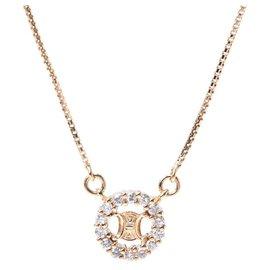 Céline-Celine necklace-Golden