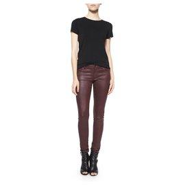 Burberry Brit-Jeans-Dark red