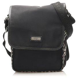Burberry-Burberry Black Nylon Crossbody Bag-Black,Multiple colors