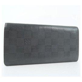 Louis Vuitton-Louis Vuitton Portefeuille Brazza-Black