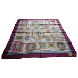 Gucci-authentic gucci scarf in silk twill 87x87cms-Other