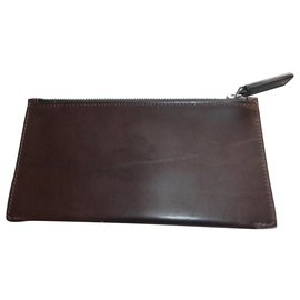 Berluti-authentic berluti leather pouch credit card holder-Other