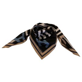 Chanel-SCARF CHANEL SILK-Multiple colors