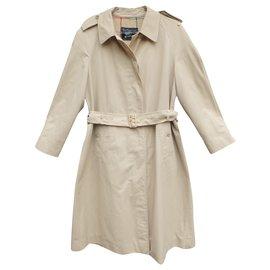 Burberry-Burberrry woman's raincoat vintage sixties t 40-Beige