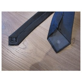 Chanel-Ties-Dark grey