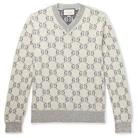Gucci-Sweaters-Grey