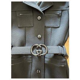 Gucci-Jackets-Black