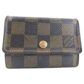 Louis Vuitton-Louis Vuitton Porte monnaie plat-Brown