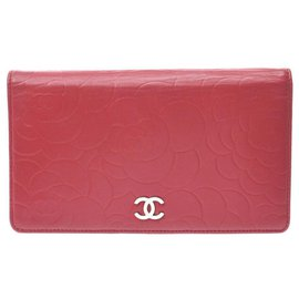 Chanel-Portefeuille Chanel-Rouge