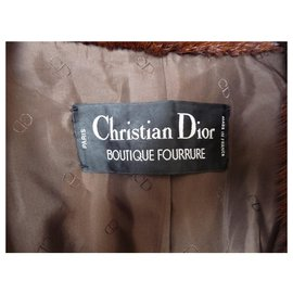 Christian Dior-Jackets-Brown