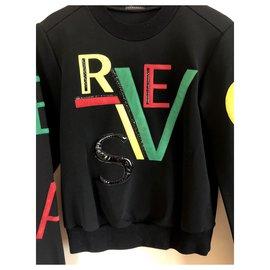 Versace-Knitwear-Black