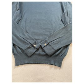 Hermès-Sweaters-Blue