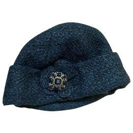 Chanel-Hats-Green