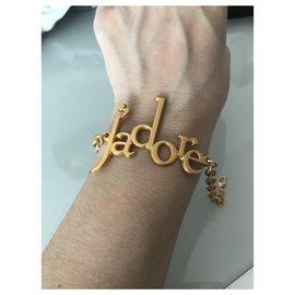 Dior-Bracelets-Bijouterie dorée