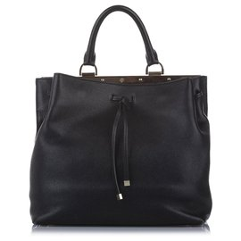 Mulberry-Mulberry Black Kensington Leather Satchel-Black