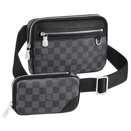 Louis Vuitton-LV Scott messenger new-Grey