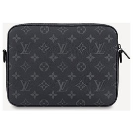 Louis Vuitton-LV Steamer messenger new-Dark grey