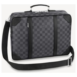 Louis Vuitton-LV backpack briefcase new-Grey