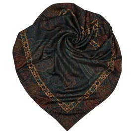 Chanel-Scarf-Brown,Multiple colors