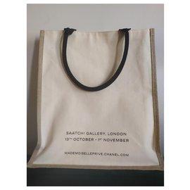 Chanel-Tote bag-Cream