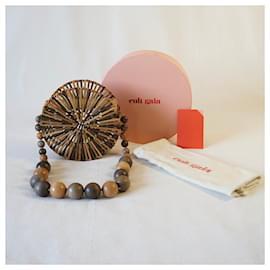 Cult Gaia-Handbags-Brown,Beige