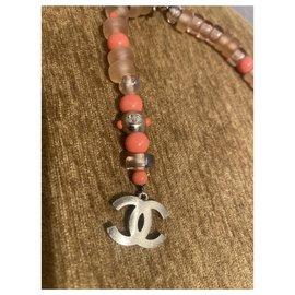 Chanel-Necklaces-Orange