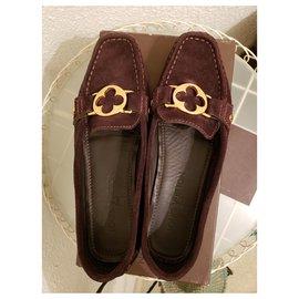 Louis Vuitton-Flats-Brown