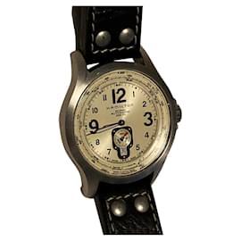 Autre Marque-Hamilton automatic watch-Cognac