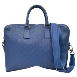 Louis Vuitton-Louis Vuitton Porte documents Jour-Blue