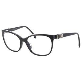 Chanel-Chanel Black Butterfly Sunglasses-Black