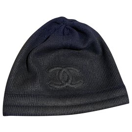 Chanel-Hats-Navy blue