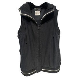 Chanel-Knitwear-Black,White