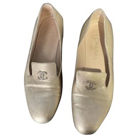 Chanel-Chanel loafer-Golden