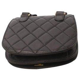 Chanel-Chanel bag belt-Black