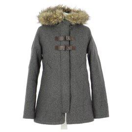 Ikks-Coat-Grey