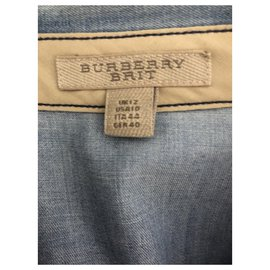 Burberry-Tops-Light blue