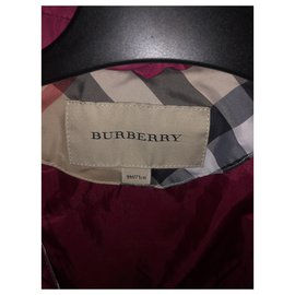 Burberry-Girl Coats outerwear-Fuschia