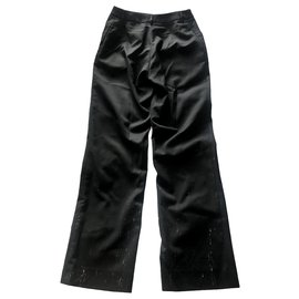 Chanel-Chanel black pants-Black